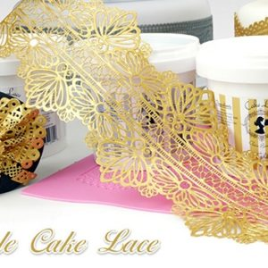 """EDIBLE CAKE LACE """"ΔΑΝΤΕΛΑ"""""""